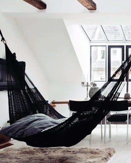 Black Indoor Hammock Ideas