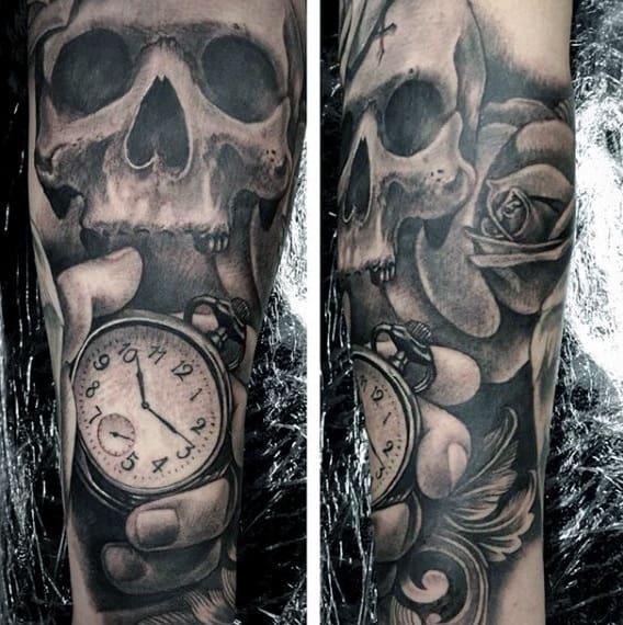 Top 103 Pocket Watch Tattoo Ideas [2020 Inspiration Guide]