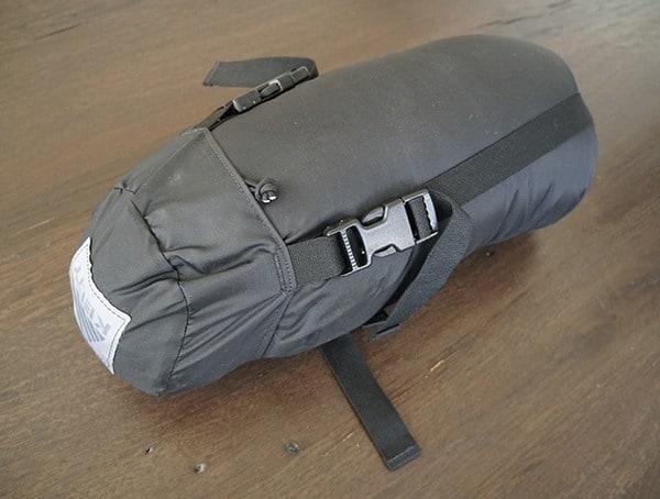Black Kelty Tactical 30 Degree Field Bag Sleeping Bag Compression Sack Side