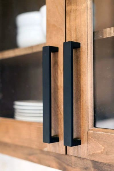 Top 70 Best Kitchen Cabinet Hardware Ideas And Pull