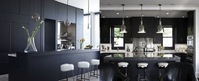 Top 50 Best Black Kitchen Cabinet Ideas – Dark Cabinetry Designs
