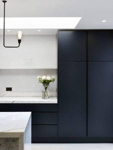 Black Kitchen Ideas Dark Cabinets
