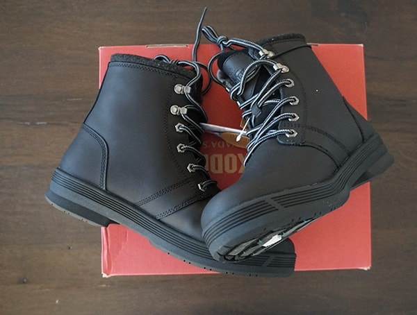 Black Kodiak Rhode Ii Arctic Grip Winter Boots For Men