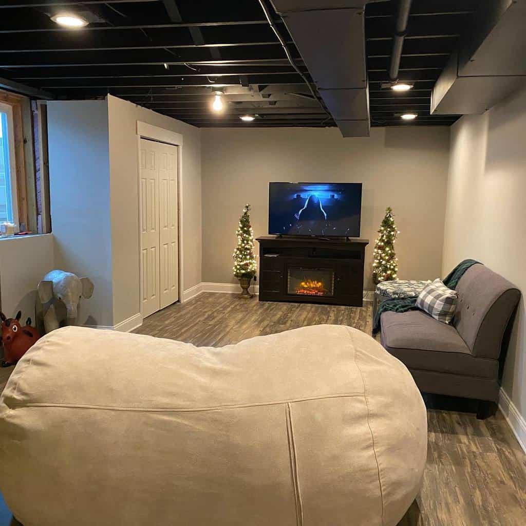black low basement ceiling ideas trendymama519