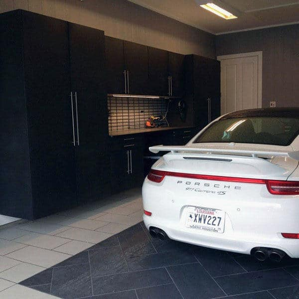 Black Luxury Garage Storage Cabinet Ideas