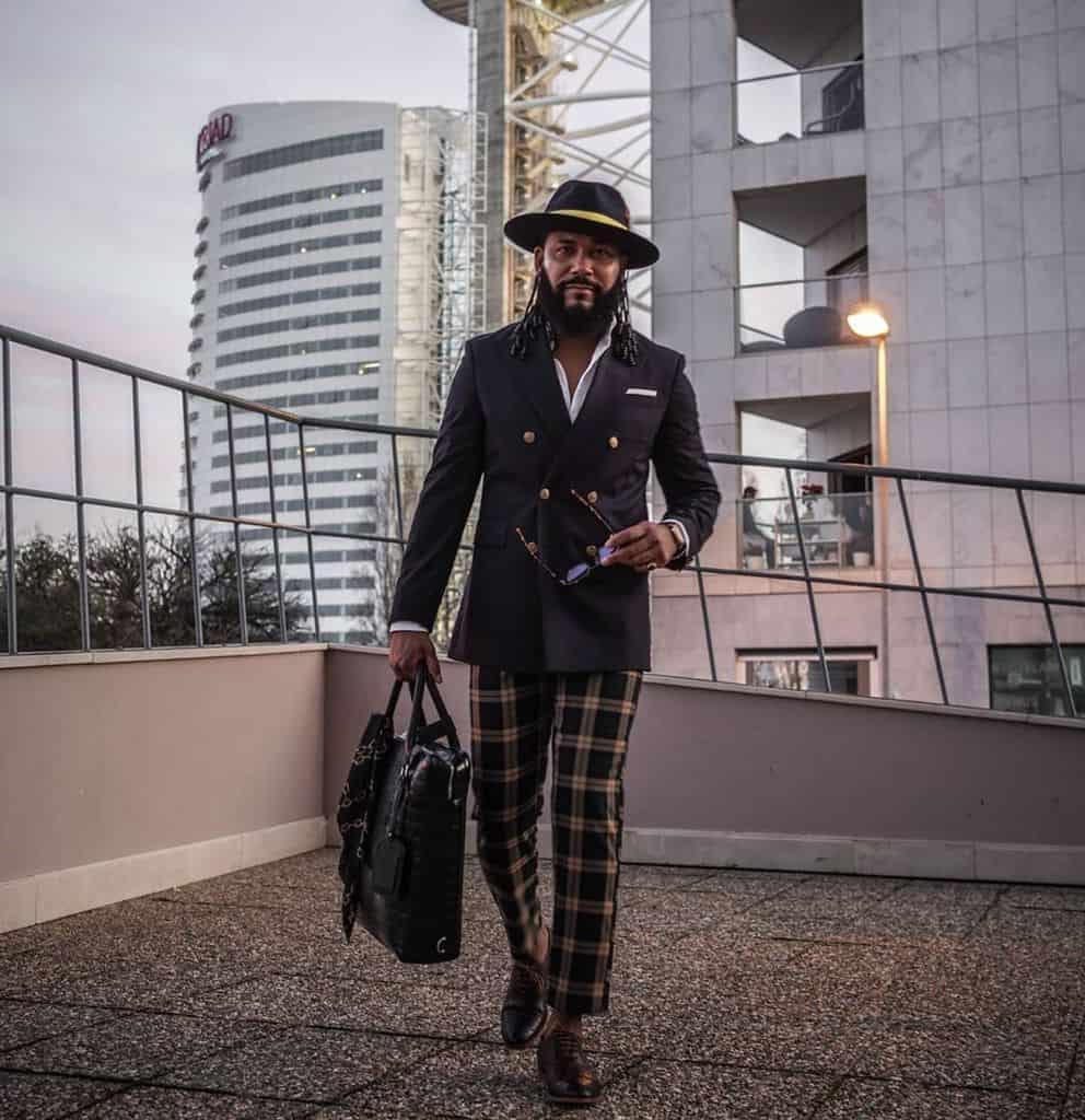 Black Men Victorian Fashion Style