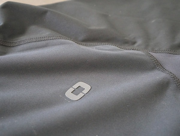 Black Ogio All Elements Elite Rain Jacket For Men Logo Detail