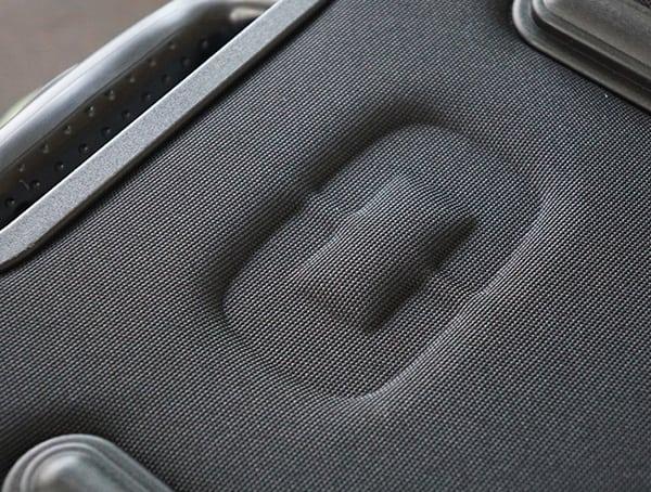 Black Ogio Alpha Convoy 522s Travel Bag Detail Brand