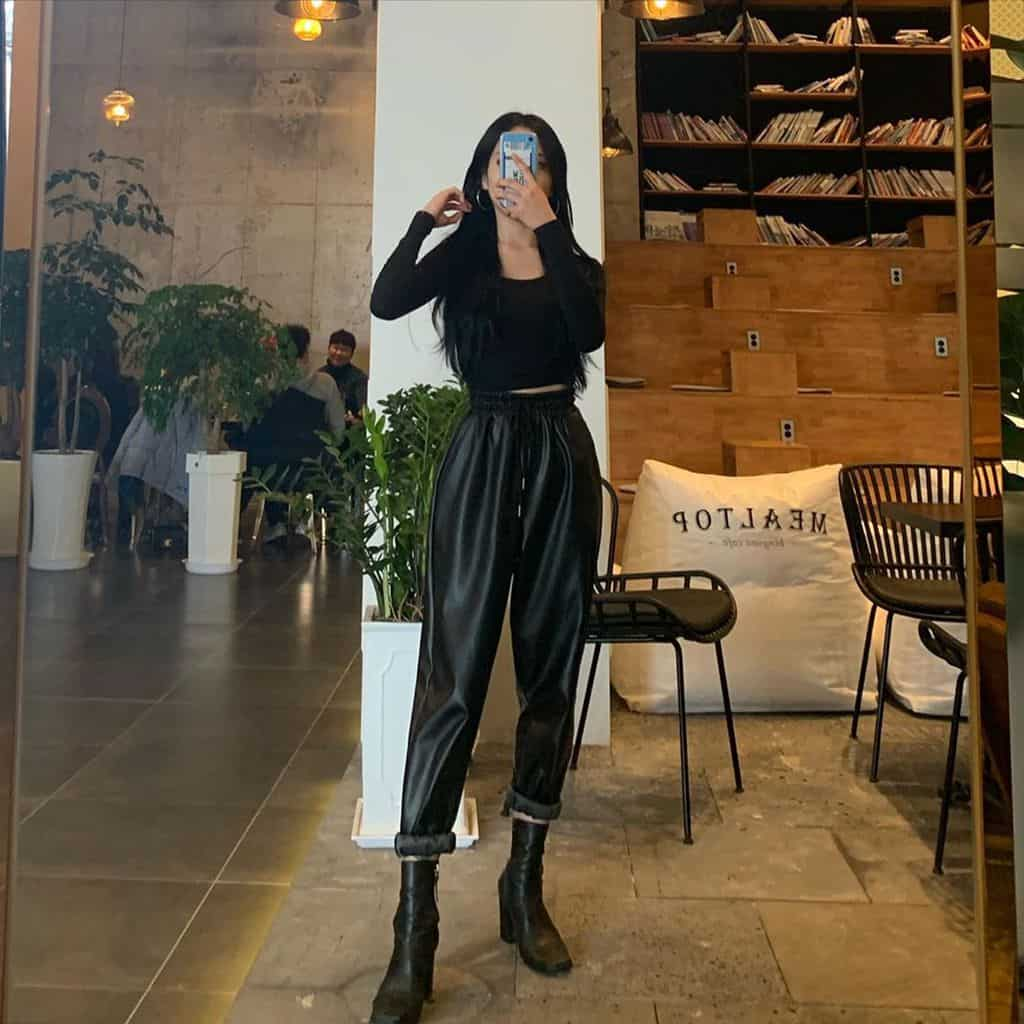 Black Outfit Black Boots