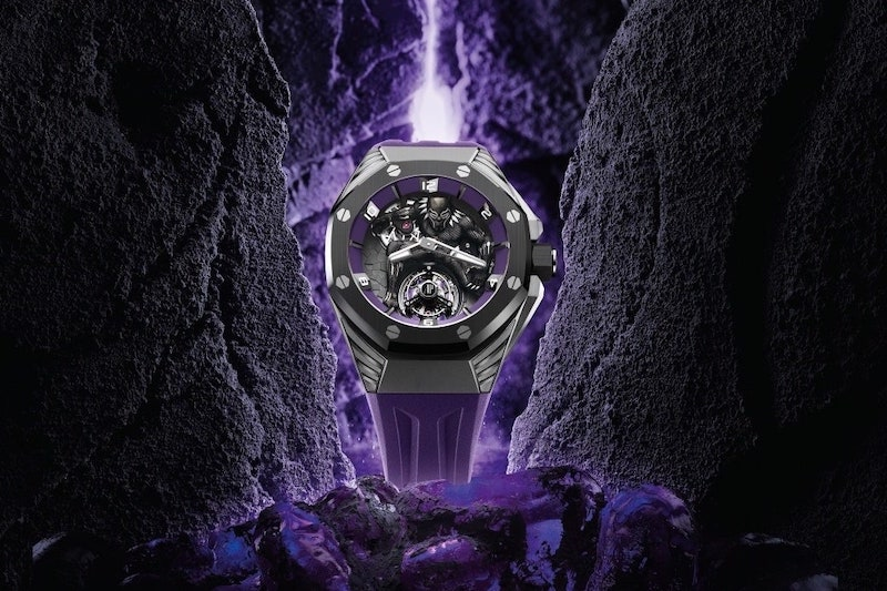 Audemars Piguet Pay Tribute to 'Black Panther' with Superhero Themed Timepiece