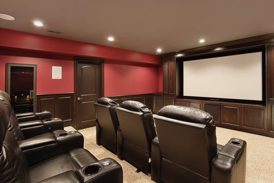 Home Theater Seating Design Inspiration