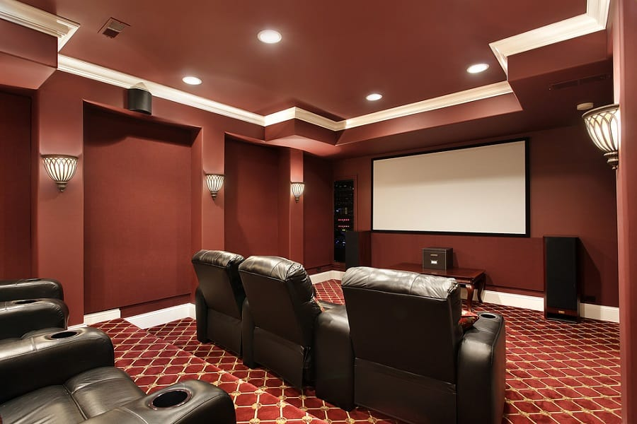 Home Theater Seating Home Designs