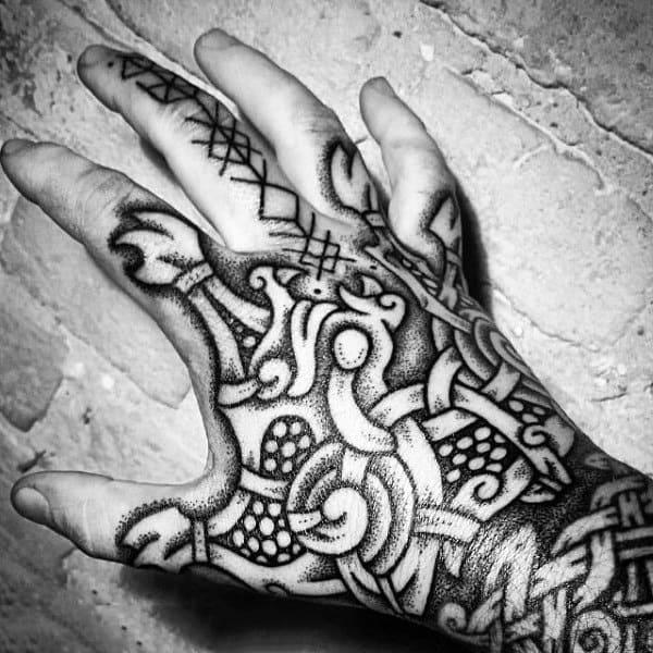 Tattoo viking hand 75 Best