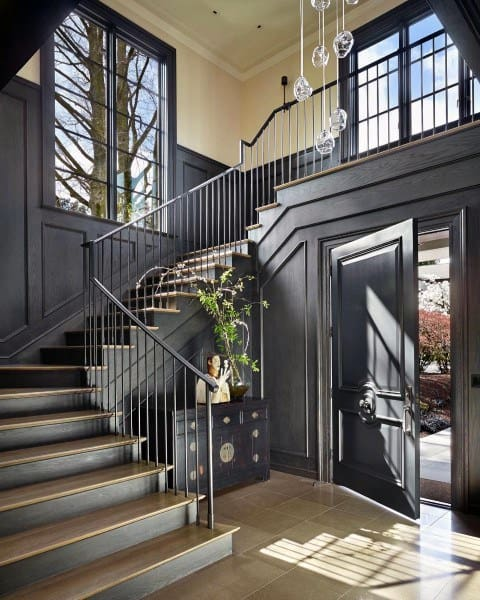 Black Staircase Ideas