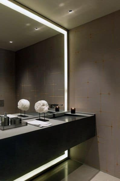 textured bathroom wallpaper ideas