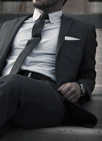 Black Suit Outfits For Men Refined Business Style