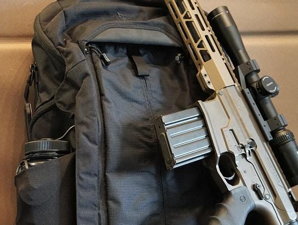 Black Vertx Edc Gamut Plus Tactical Backpack For Men