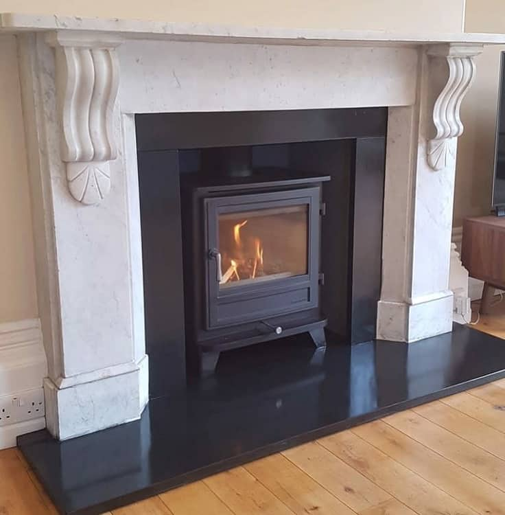 Black Victorian Marble Fireplace Surround Thesomersetstovecompany