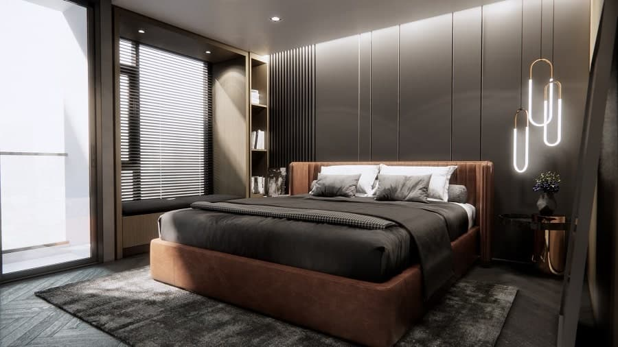 Bedrooms Designs. Black Wall Paint Bachelor Pad Mens Bedrooms Designs 80 Men s Bedroom Ideas  Manly Interior Design