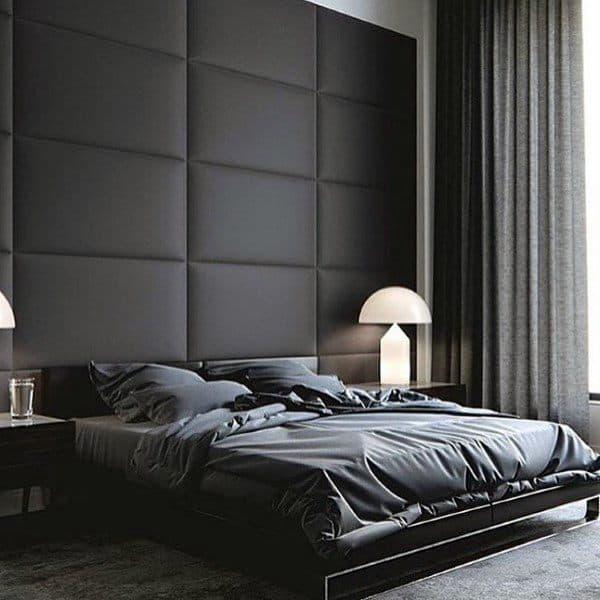 Black Walls Bedroom Ideas