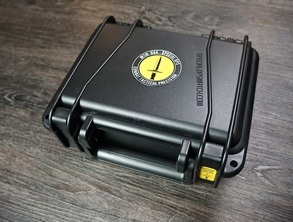 Black Water Tight Barracuda Box For Hypertec H 61 Watch