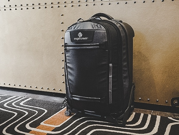 Black Wheeled Carry On Suitcase Eagle Creek Morphus International Review