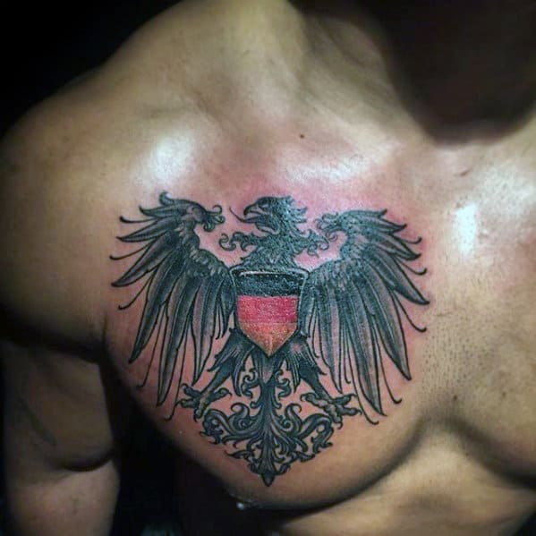 50 German Eagle Tattoo...