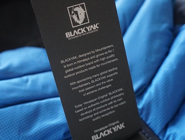 Blackyak Tag Bakosi Jacket For Men
