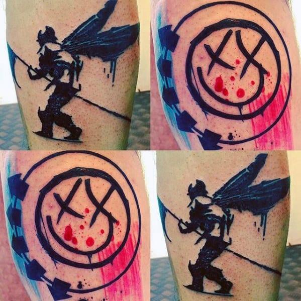 Blink 182 Guys Tattoo Ideas