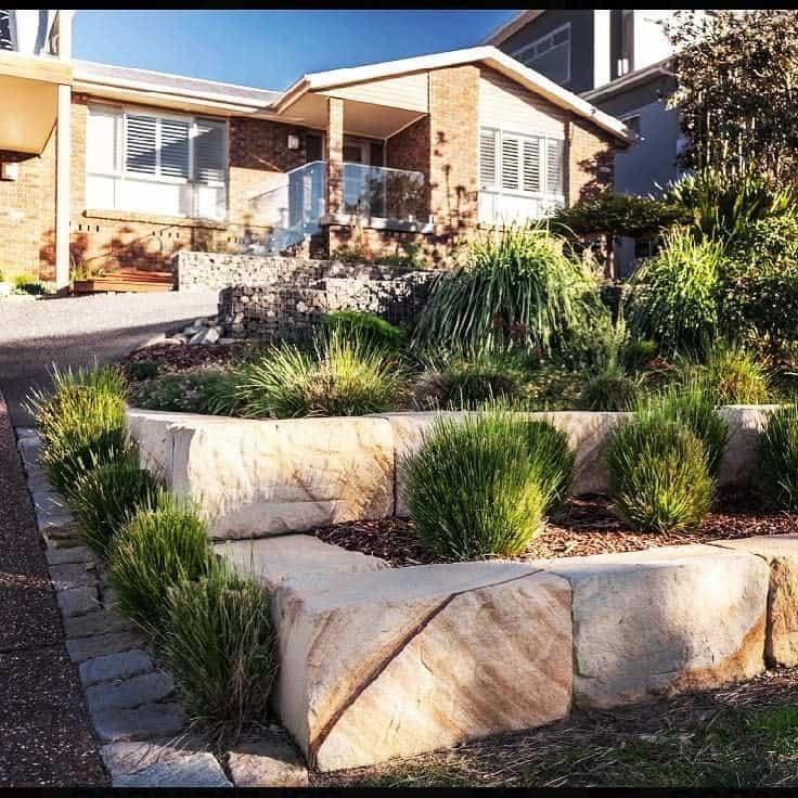 blocks garden edging ideas everlastlandscapes