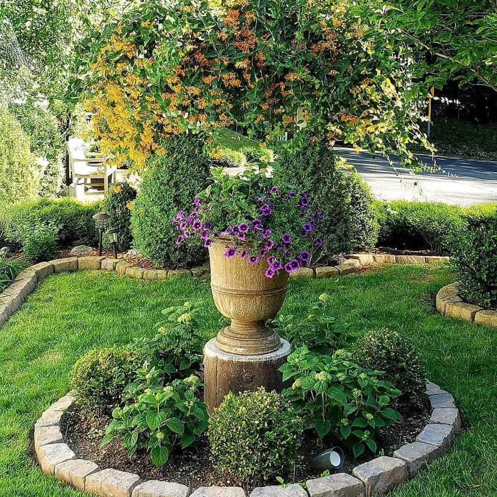 blocks garden edging ideas gardencat2020