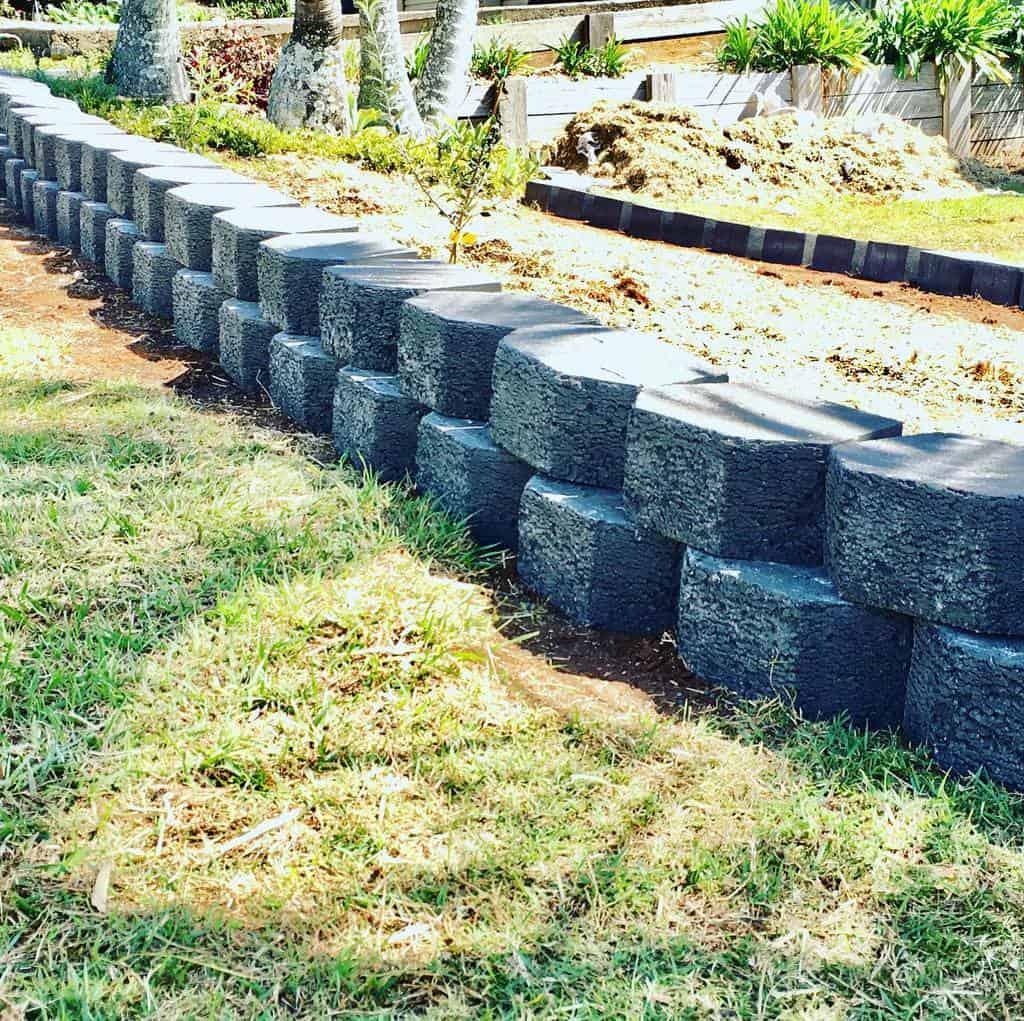 blocks garden edging ideas redlands_coast_landscaping_
