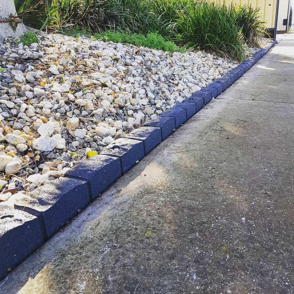 blocks garden edging ideas tdegardenservices