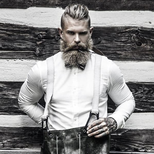 Blonde Mens Awesome Beard Styles