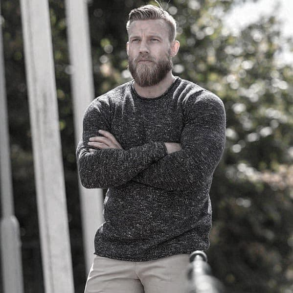 50 Short Hair With Beard Styles For Men Sharp Grooming Ideas