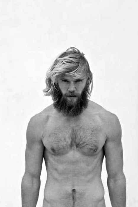 Blonde Surfer Hairstyle For Guys