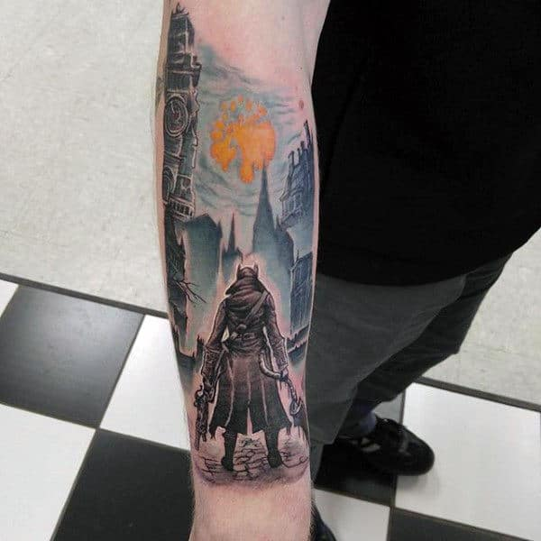 Bloodhound Video Game Tattoos For Guys