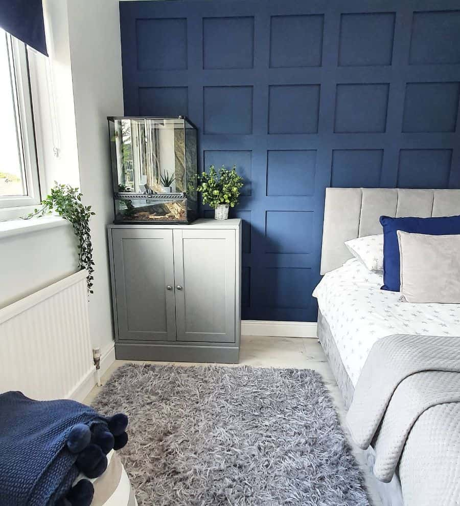 blue accent walls blue bedroom ideas sophies.home.full.of.sparkle