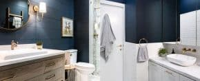 Top 50 Best Blue Bathroom Ideas – Navy Themed Interior Designs
