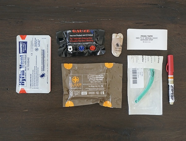 Blue Force Gear Advanced Kit Supplies Medical
