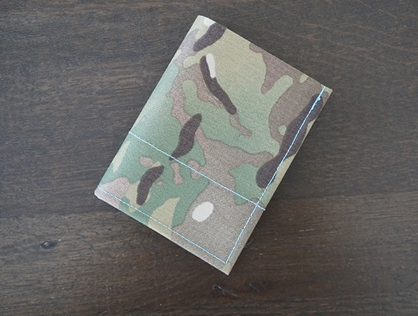 Blue Force Gear Mens Multicam Bi Fold Wallet