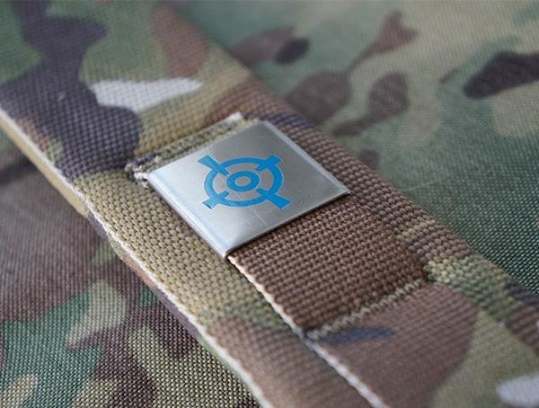 Blue Force Gear Tracer Pack Metal Shoulder Strap Detail