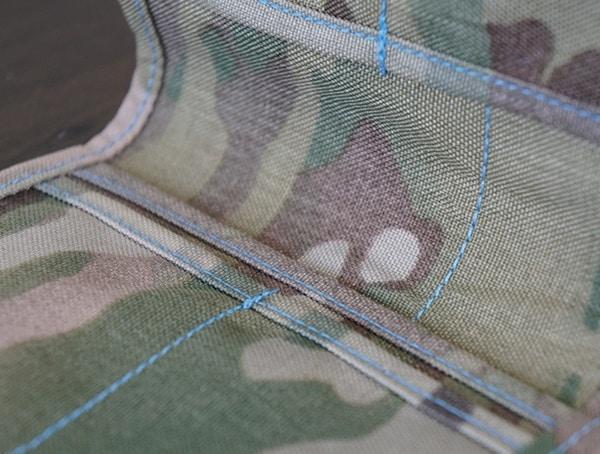 Blue Force Gear Wallet For Men Stiching Details
