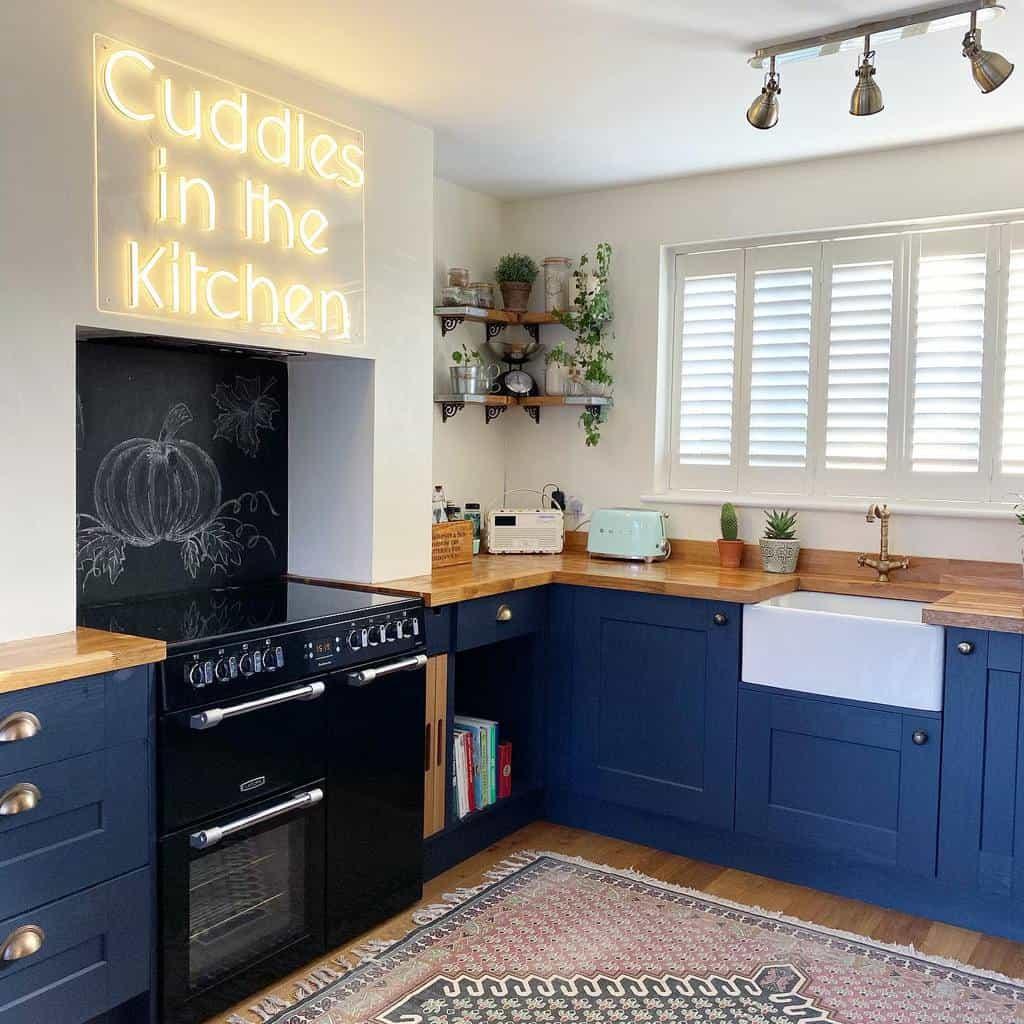 blue kitchen color ideas eli_at_home