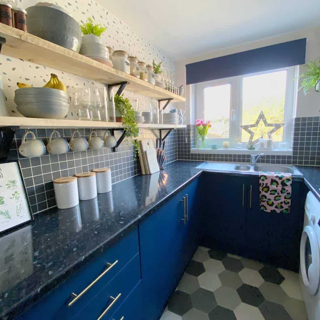 blue kitchen color ideas the_handymama