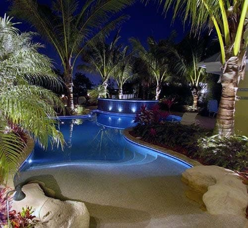 Blue Led Ideas For Home Pool Lighting