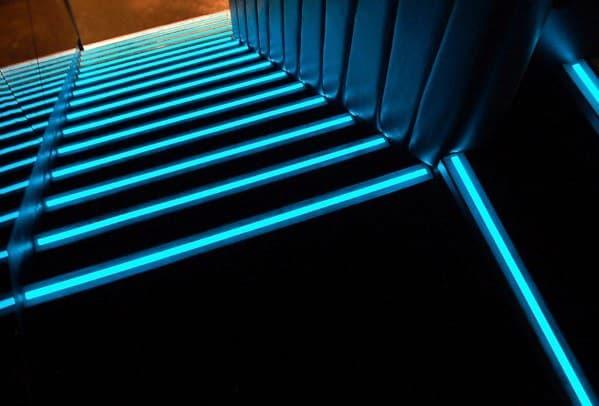 Blue Leds Design Ideas Staircase Lighting