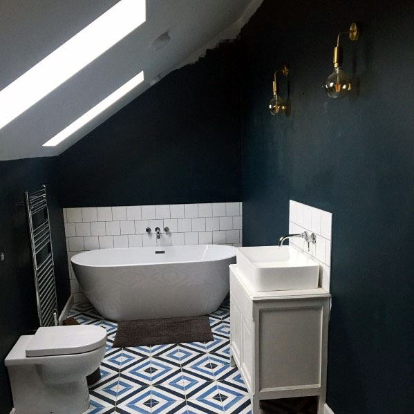 Top 50 Best Blue Bathroom Ideas