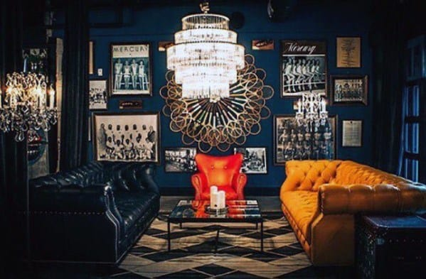Blue Room Awesome Man Caves For Men