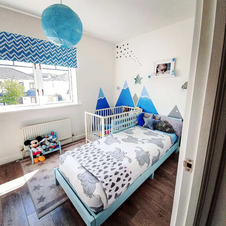 blue themed room for kids decor.and.kids